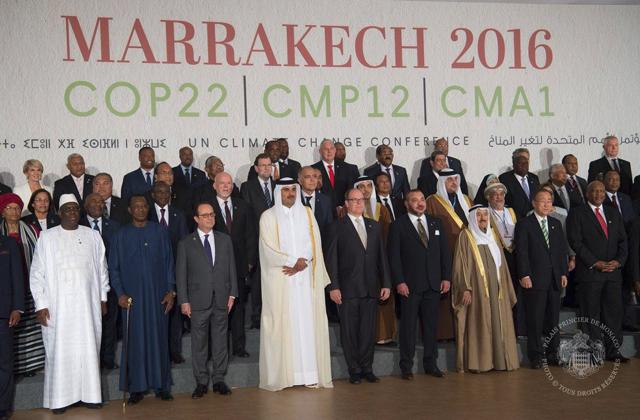 Déplacement de S.A.S le Prince à Marrakech