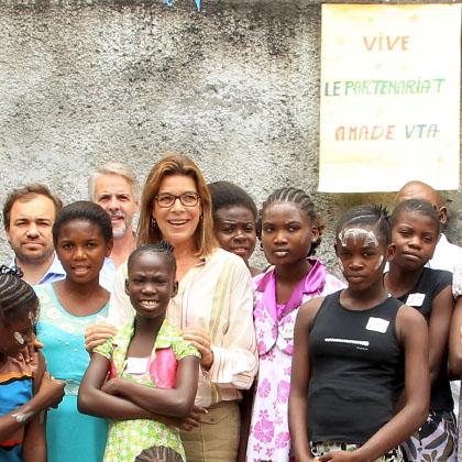 Déplacement de S.A.R. la Princesse de Hanovre en République Démocratique du Congo