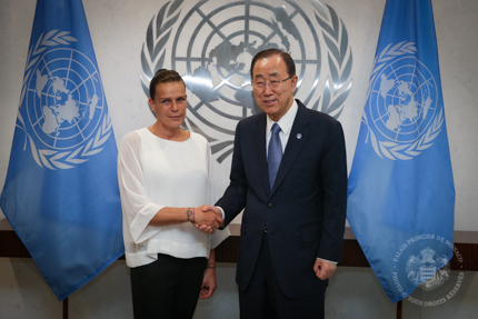 S.A.S la Princesse Stéphanie à l'ONU