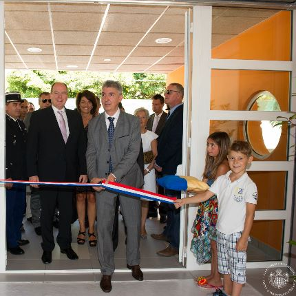 Inauguration de l'école Charles-Imbert