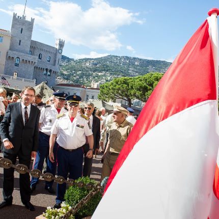 70th Anniversary of the Liberation of Monaco