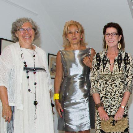 S.A.R. la Princesse de Hanovre a inauguré la nouvelle exposition du NMNM