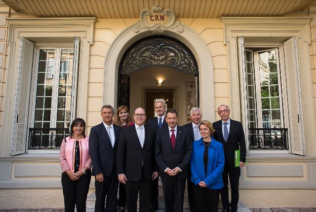 Official visit in Monaco by Peter Maurer, President of the International Committee of the Red Cross