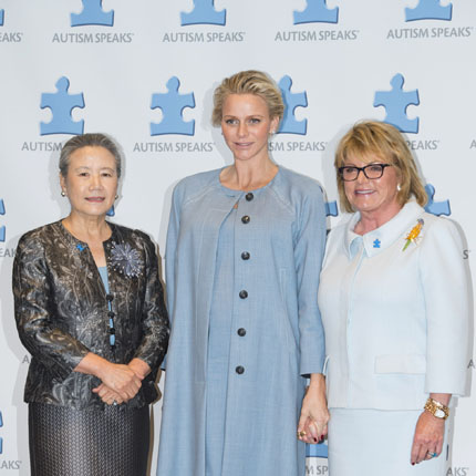 Participation de S.A.S la Princesse Charlène au  7ème World Focus on Autism  à New-York