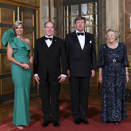 Official Visit by H.S.H. Prince Albert II of Monaco to the Netherlands