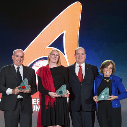 Prince Albert II of Monaco Foundation Awards ceremony in Palm Springs