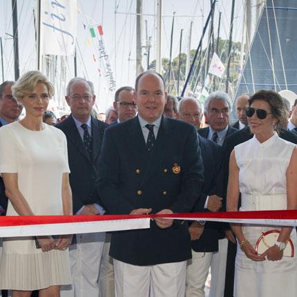 Inauguration du nouveau siège du Yacht Club de Monaco