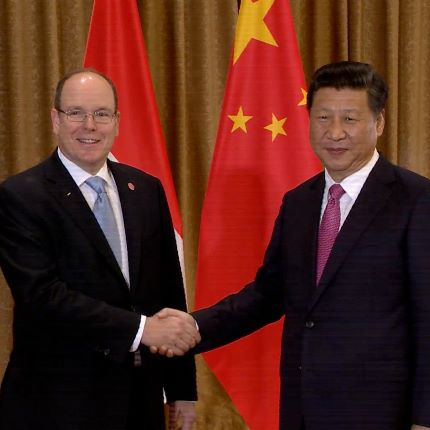 Déplacement de S.A.S. le Prince Albert II de Monaco à Nanjing et à Beijing