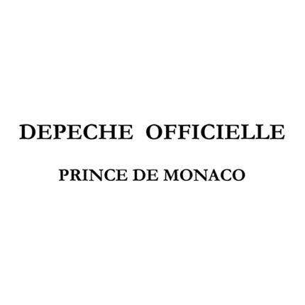 Message de S.A.S. Le Prince à Sa Majesté le Roi des Belges