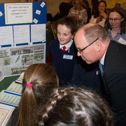 S.A.S. le Prince Albert II à Drogheda (Irlande)