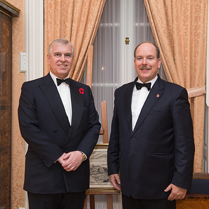 H.R.H. Prince Andrew, Duke of York in Monaco