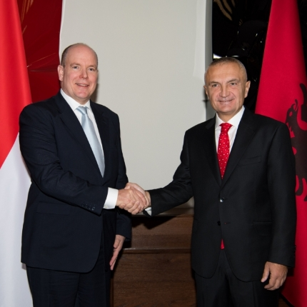 H.S.H. Prince Albert II of Monaco's official visit to Albania