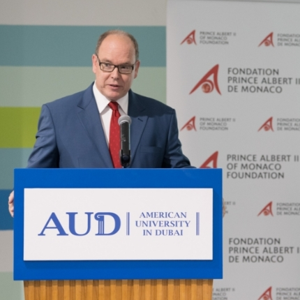 Visit by H.S.H. Prince Albert II to Dubai