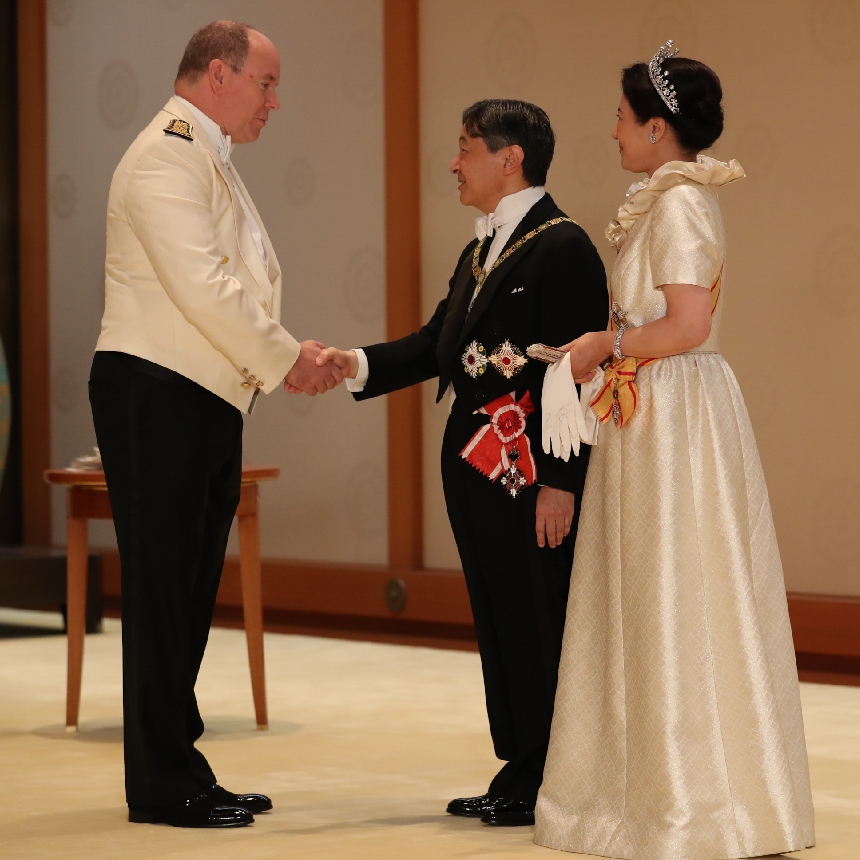 H.S.H. the Prince attends the enthronement ceremony of His Majesty the Emperor of Japan