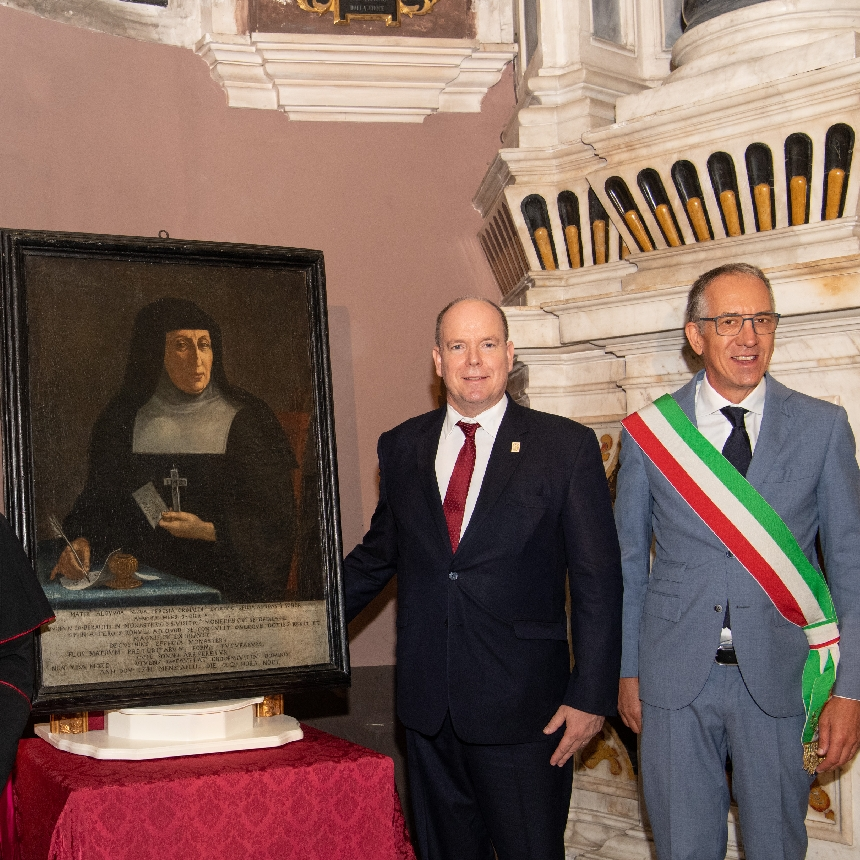 Visit of H.S.H. Prince Albert II to San Remo (Italy)