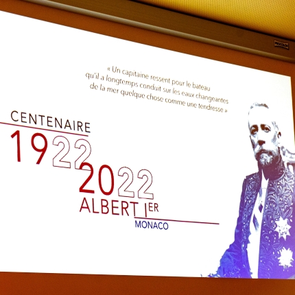 Launch of the commemorations of the centenary of the death of Prince Albert I of Monaco
