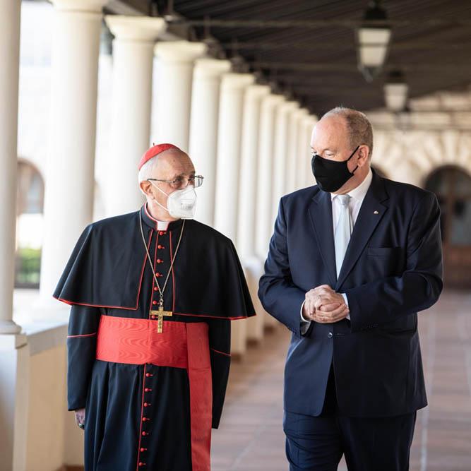 Visite du Cardinal Fernando Filoni