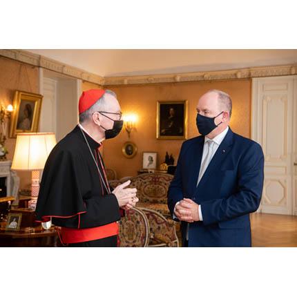 Visite du Cardinal Pietro Parolin