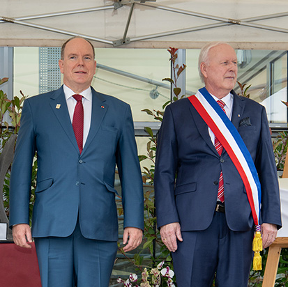 Visite de S.A.S. le Prince dans l'Allier et le Puy-de-Dôme