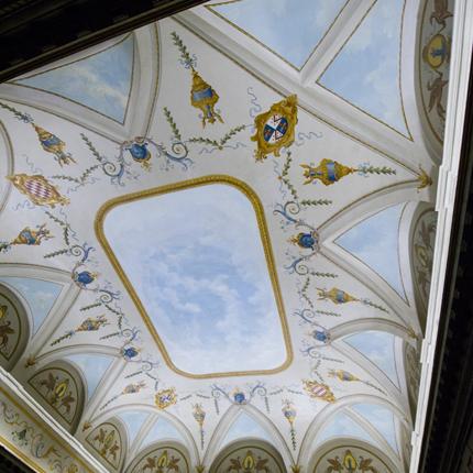 Plafond chambre Louis XIII