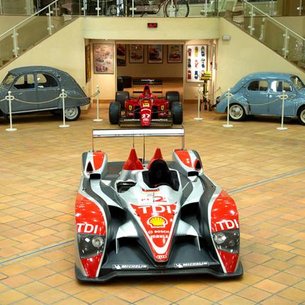 La collection de voitures anciennes