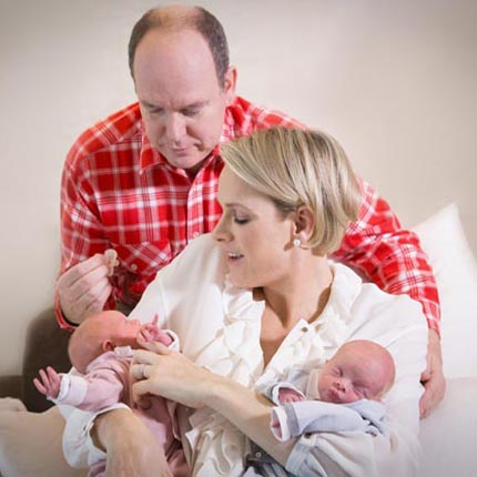 First pictures of the Princely Children