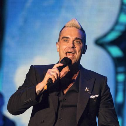 Concert de Robbie Williams