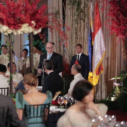 Visite Officielle de S.A.S. Le Prince Albert II Aux Philippines