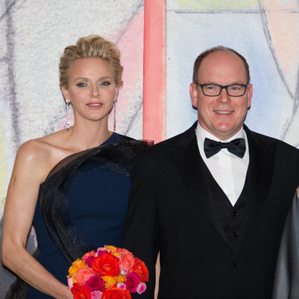 H.S.H. Prince Albert II and H.S.H. Charlene Wittstock