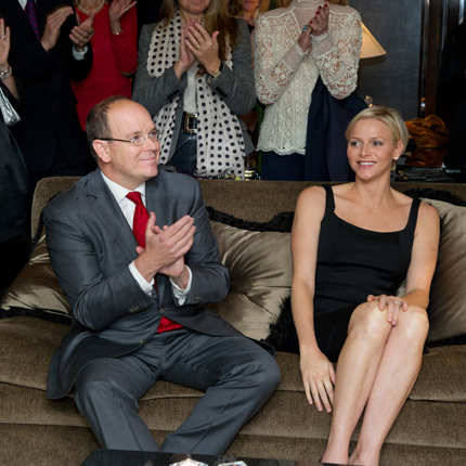 Princess Charlene foundation CREM presentation 2013