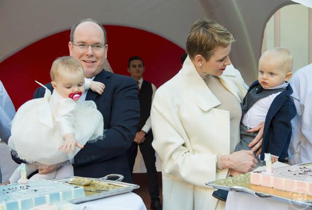 Premier anniversaire des Enfants Princiers