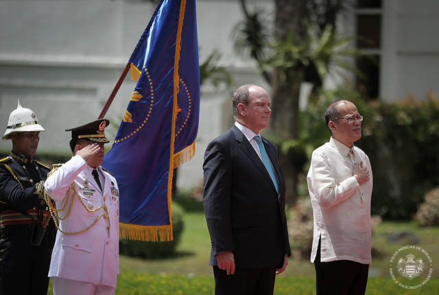 Official visit of H.S.H. Prince Albert II to the Philippines
