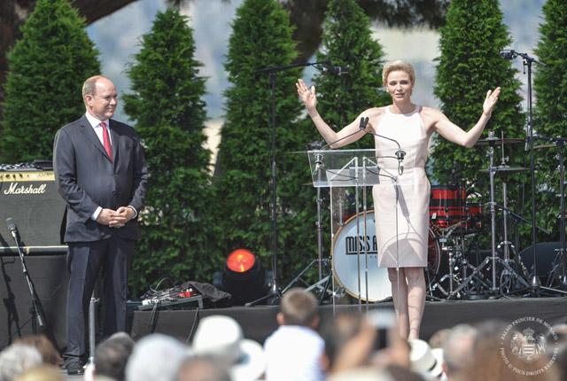 10ème anniversaire de règne de S.A.S le Prince Albert II de Monaco