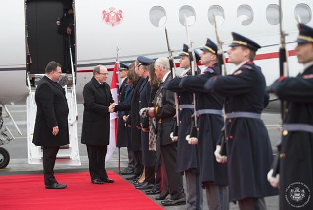 Visite d'Etat de S.A.S. le Prince Albert II de Monaco en République Tchèque