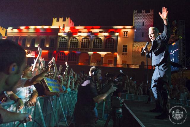 10ème anniversaire de Règne de S.A.S le Prince Albert II de Monaco - Concert de Robbie Williams