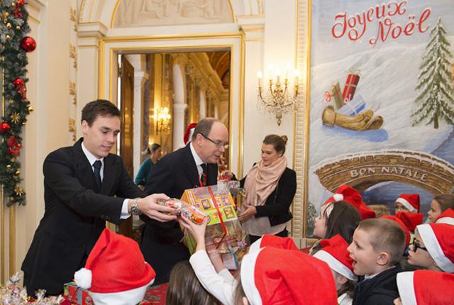 Le Noël des enfants Monégasques au Palais Princier