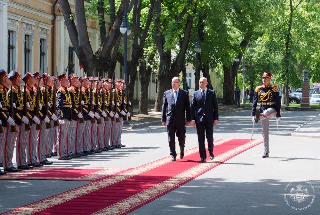 Visite Officielle de S.A.S. le Prince Albert II  en Moldavie - 4 et 5 mai 2017