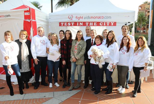 Fight Aids Monaco - 1er décembre, Journée Mondiale de Lutte Contre le Sida