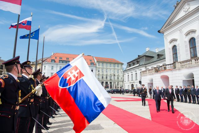 Visite Officielle de S.A.S. le Prince Albert II en Slovaquie - 2 et 3 mai 2017