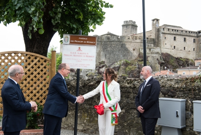 Visit of H.S.H. Prince Albert II to Italy - 15 and 16 May 2018