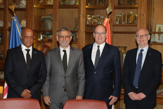 The President of Cape Verde on a working visit