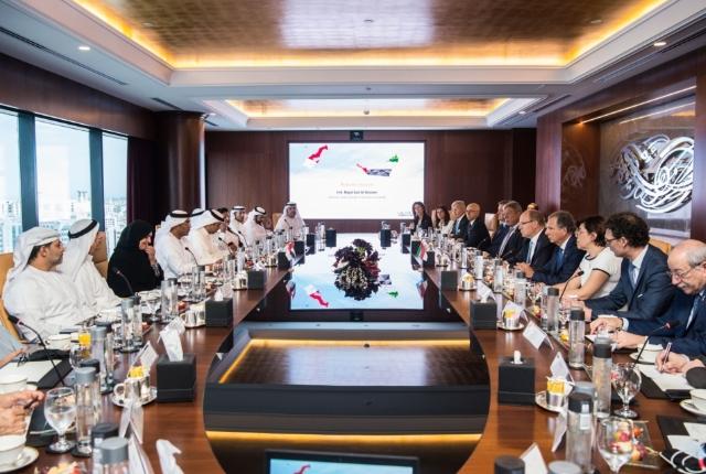 Visite de S.A.S. le Prince Albert II à Dubaï