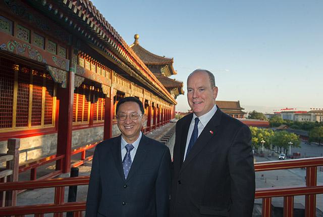 Visite d'État de S.A.S. le Prince Albert II en Chine
