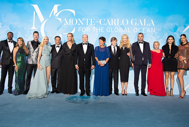 3è édition du Monte-Carlo Gala for the global ocean