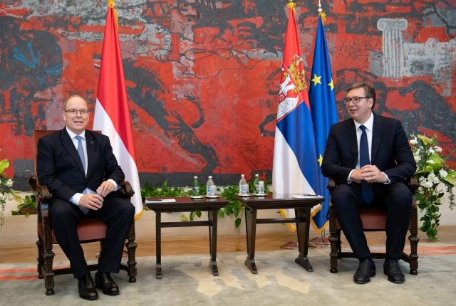 Visite officielle de S.A.S. le Prince Albert II en République de Serbie