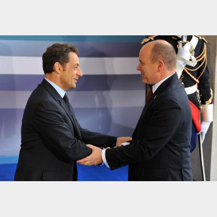 S.A.S. le Prince Albert II au Sommet de l'Union pour la Méditerranée