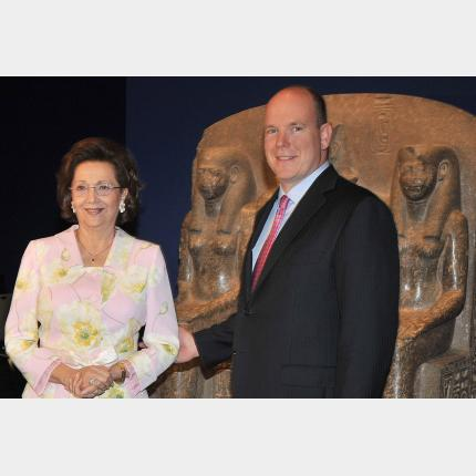 S.A.S. le Prince Albert II a inauguré l'exposition