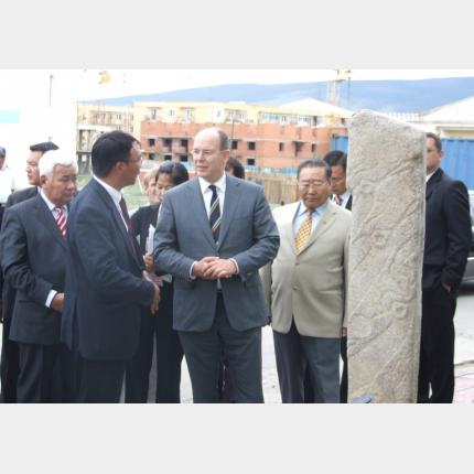 H.S.H. Prince Albert's official visit to Mongolia