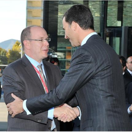 HSH Prince Albert II at the IUCN (International Union for Conservation of Nature) World Conservation Congress