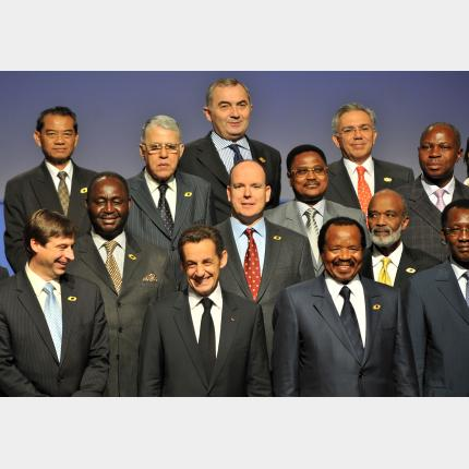 S.A.S. le Prince Albert II au XIIe Sommet de la Francophonie